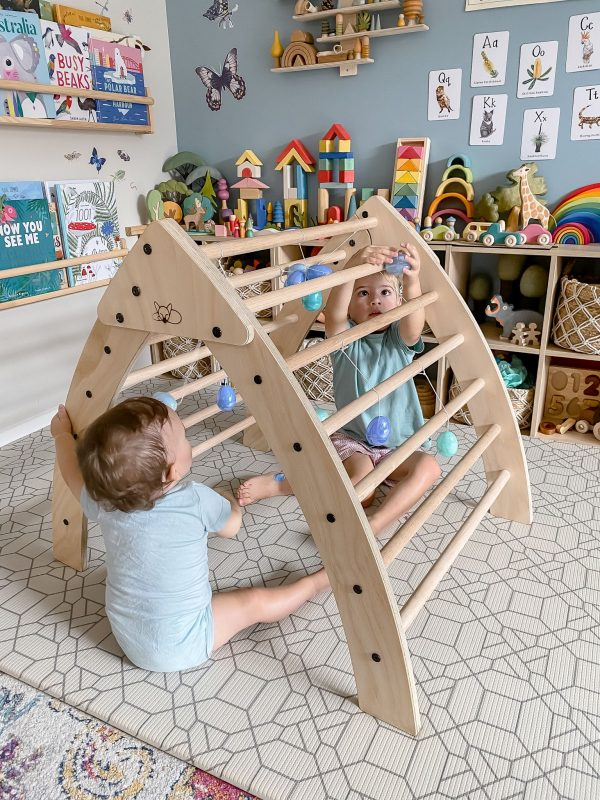 Large Foldable Pikler Triangle Arch