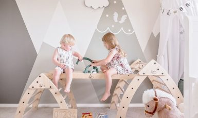 Adventure Package with two kids playing