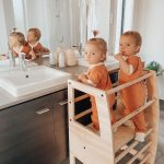 My Little Helper Double – Timber Finish