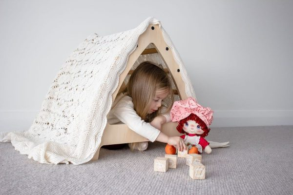 Medium Pikler Climbing Arch with girl underneath playing