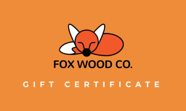 The Fox Wood CO. Giftcard